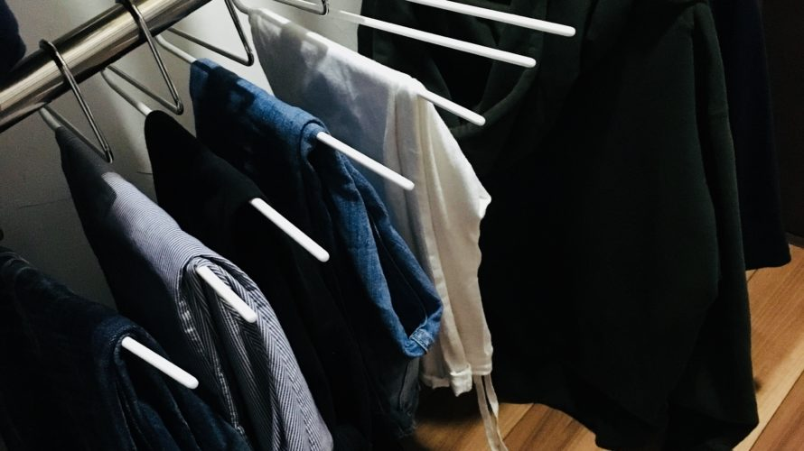 マワハンガー【納戸収納】〜パンツ・一度着た服の戻し場所〜