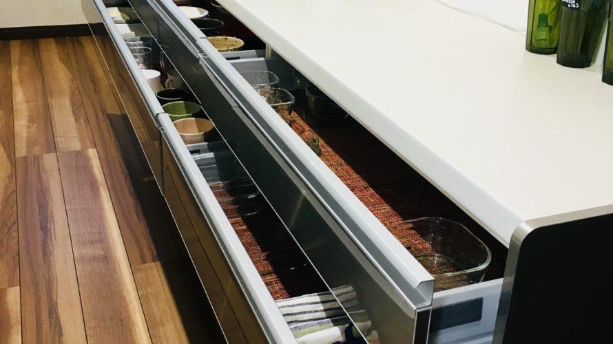 食器の収納方法は【引き出し】で決まり!実例をお見せします!!