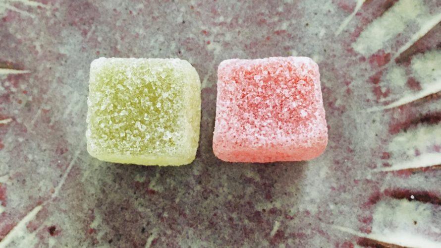 タフグミ・梅「懐かしの梅ガム味」に似ている。