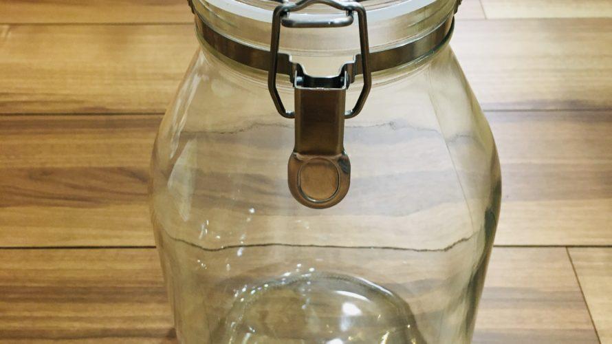 セラーメイト3Lで梅シロップ「よくある瓶とは違う!!」