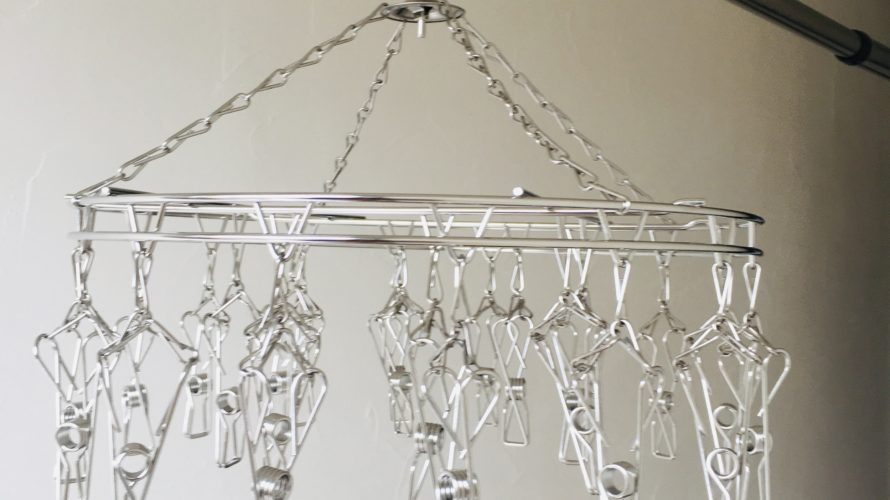 小物干し用ステンレスハンガー【大木製作所】洗濯を楽に早く!